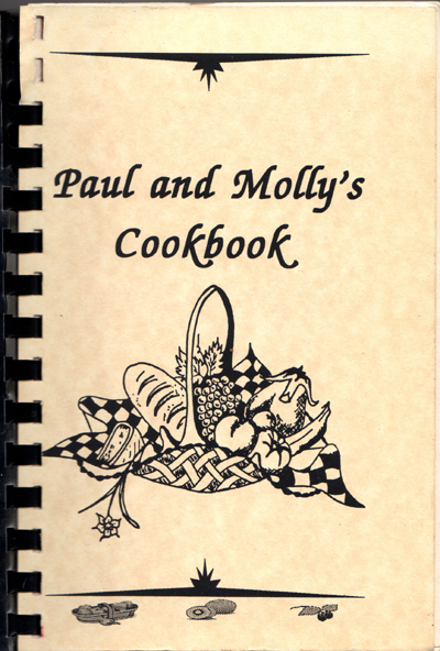 Paul and Molly's Cookbook Cover